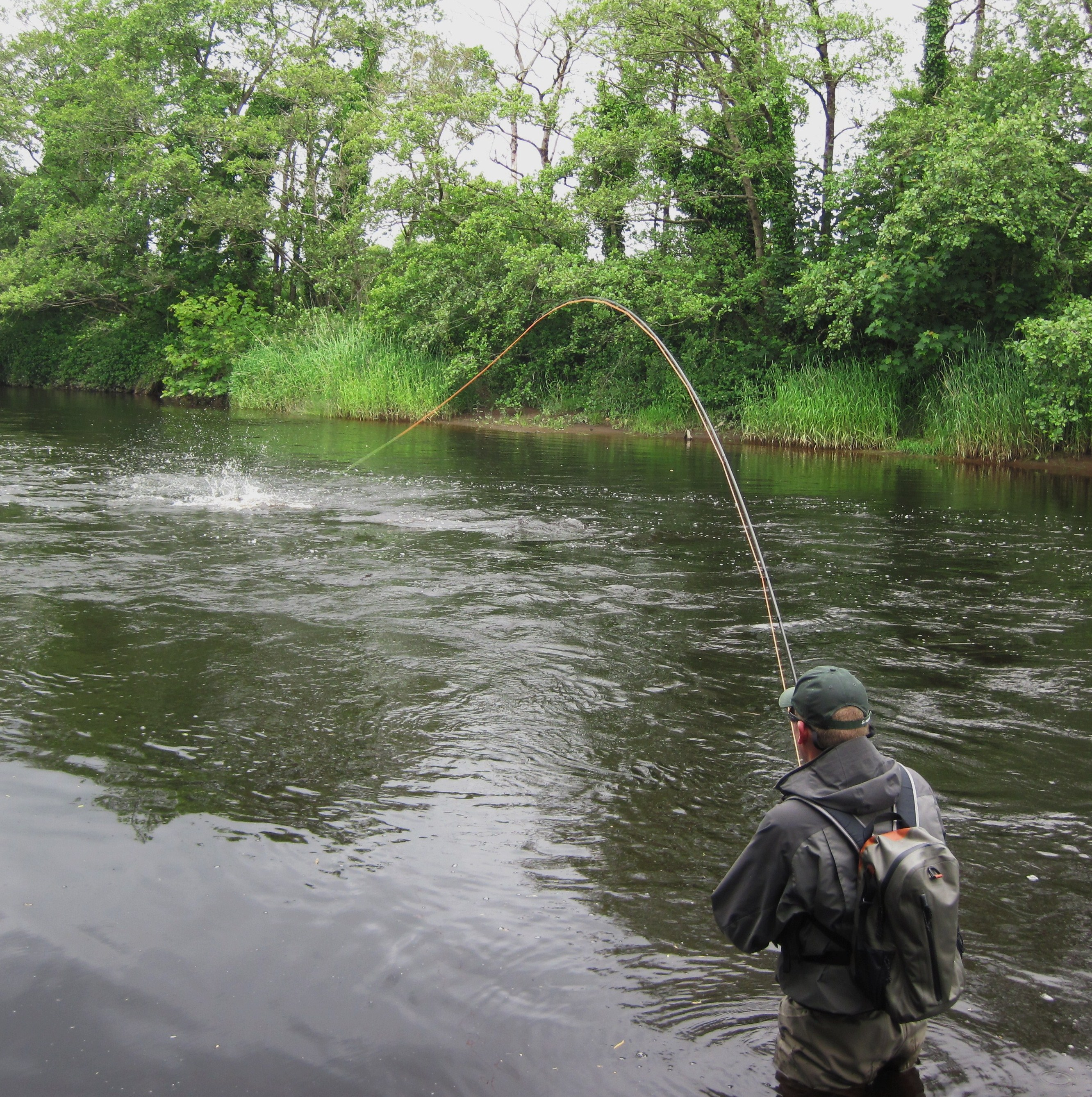 Salmon lies part 1 fly fishing in ireland for Fishing in ireland